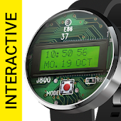 LCD Watch Face - Interactive