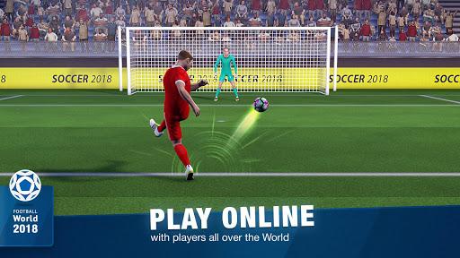FreeKick Soccer World 2018 1.6.6 gameplay | by HackJr.Pw 2