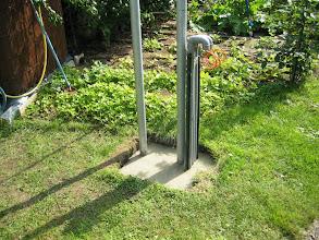 Photo: 6/7cm pour remettre un peu de terre et 2/3graines de gazon