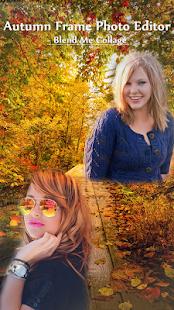 Autumn Frame Photo Editor - Blend Me Collage - náhled