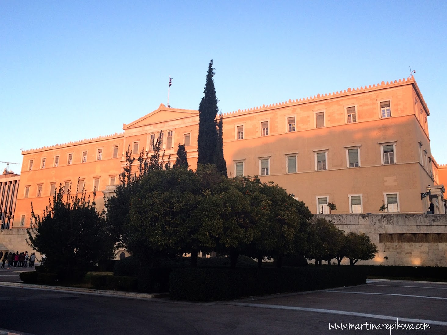 Parliament at Syntagma square, Athens, Greece