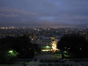 Photo: Sunset over Paris