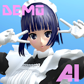 ANIME ASSISTANT 3D AI MAID LIME DEMO