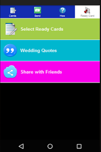 Our Wedding Cards Widget screenshot 1