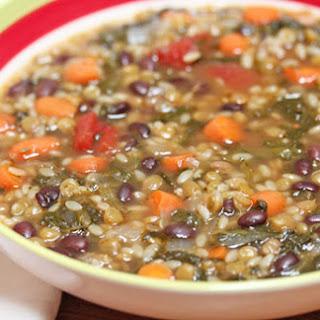 Lentil Minestrone Soup
