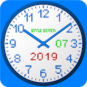 3D Analog Clock Live Wallpaper-7 Icon