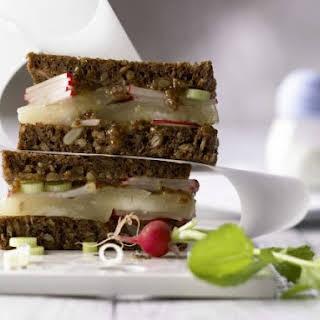 Limburger Rye Bread Sandwich.