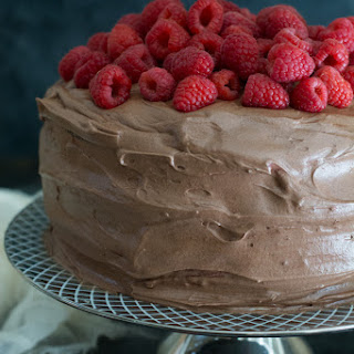 Gluten Free Chocolate Raspberry Layer Cake Recipe