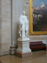 Photo: Abraham Lincoln in the Statuary Collection.