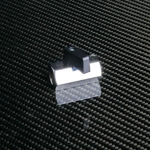 Kran/kulventil för vakuum i metall G 1/4