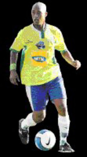 RUMBLE: Mamelodi Sundowns' David Kannemeyer. Pic. Lefty Shivambu. 03/12/06. © Gallo Images.