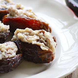Brie-Stuffed Dates.