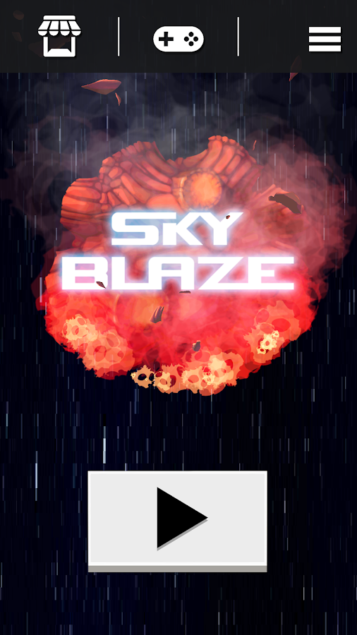 Sky Blaze- screenshot