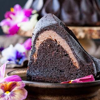 Chocolate Cheesecake Stuffed Bundt Cake Recipe
