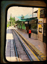 Photo: Ollantaytambo Train Station to pick-up more passengers.