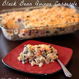Black Bean Quinoa Casserole Recipe