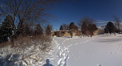 "Photo: And yes this is perfectly ""You bought WHAT?"" Holy Cross, WI 1.5 acres. Needs work. Closed Feb. 28th, 2013"