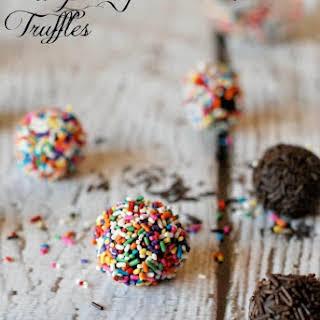 Raspberry Mocha Chocolate Truffles.