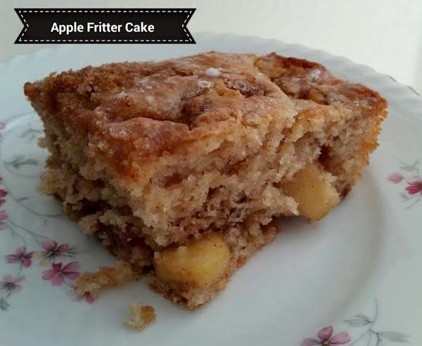 Apple Fritter Cake Recipe