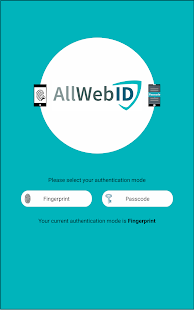 AllWebID Identity Manager- screenshot thumbnail