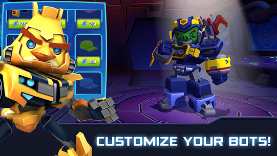 Angry Birds Transformers MOD (Unlimited Coins) 2