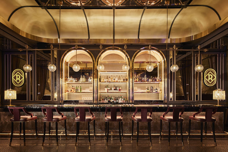 Rosina bar in Las Vegas, designed by Simeone Deary Design Group.