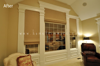"Photo: (After) Window trim with Fluted pillars 9"" wide and Header Chester Springs, PA"
