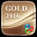 Gold 2016 GO Launcher Theme icon