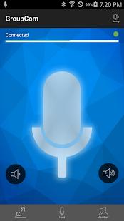 Walkie-Talkie App - GroupCom - náhled