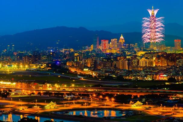 Passagem de Ano em Taipei