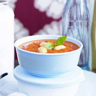 Italian Roasted Tomato and Red Pepper Soup