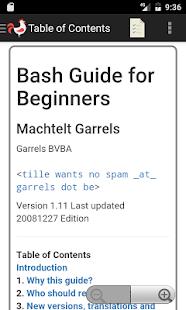 Bash Beginner's Guide - náhled