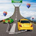 Superhero Double Impossible: Mega Ramp Car Stunts icon