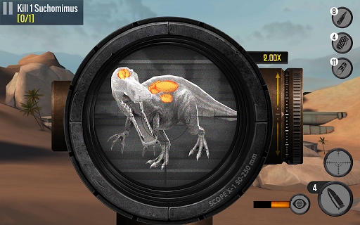 Best Sniper Legacy: Dino Hunt & Shooter 3D screenshot 8