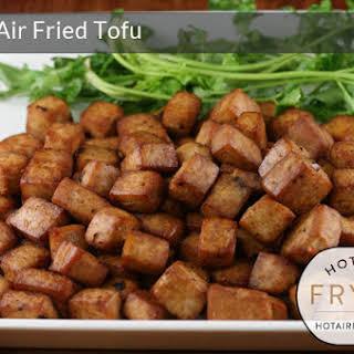 Crispy Air Fried Tofu.