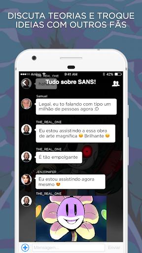 Undertale Amino em Portuguu00eas 2.2.27032 screenshots 2