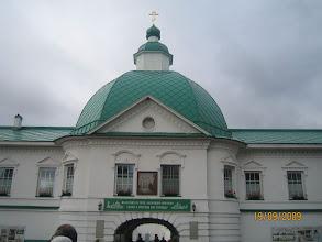 Photo: Вход в  Святую обитель (Преображенский комплекс  Александро-Свирского монастыря)