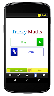 Tricky Maths- screenshot thumbnail