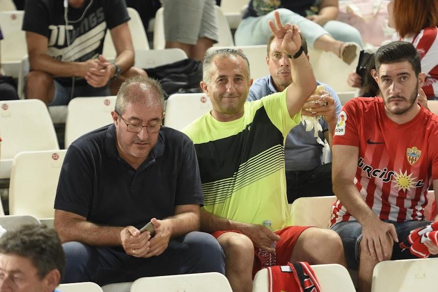 Ellos apuestan por el nuevo Almería.