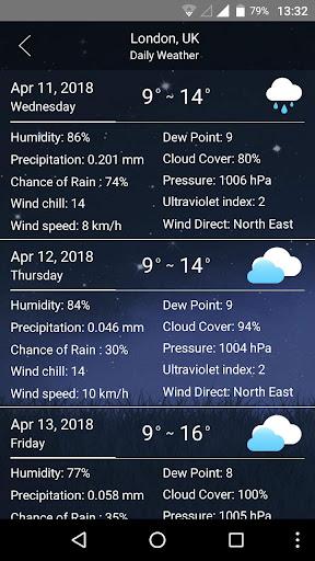 weather 8.6.8 Screenshots 5