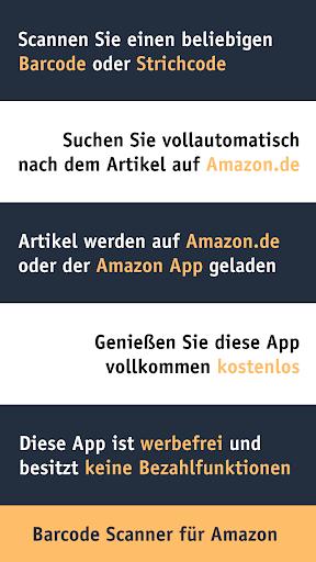 Barcode Scanner Pro für Amazon Deutschland 1.0.1 screenshots 1
