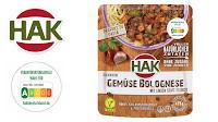 Angebot für HAK Fertiggerichte Gemüse-Bolognese im Supermarkt - Hak