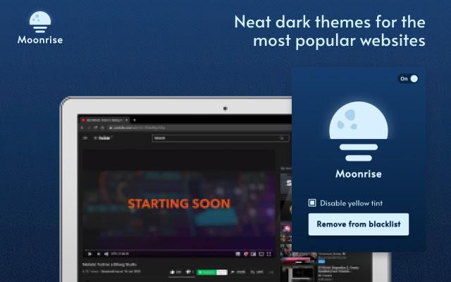 Moonrise Dark Theme