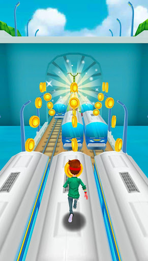 Subway Train Surf Plus apktreat screenshots 1