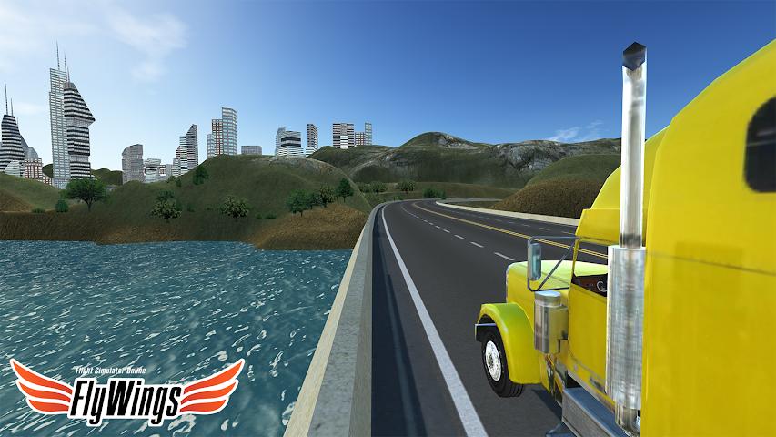android Truck Simulator 2016 Free Game Screenshot 16