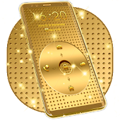 Gold Locker Theme For Galaxy S5