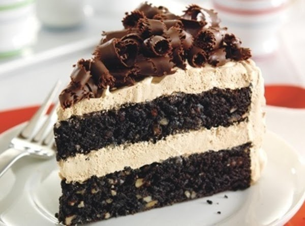 European Mocha Fudge Cake Recipe