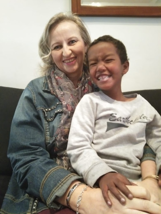 Elmarie van der Merwe Brynard and her son Joshua have had their prayers answered as an anonymous donor and some corporates have come forward to fund Joshua's diagnostic cardiac catherisation procedure