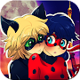 Fan Art Miraculous Ladybug Wallpaper APK icon