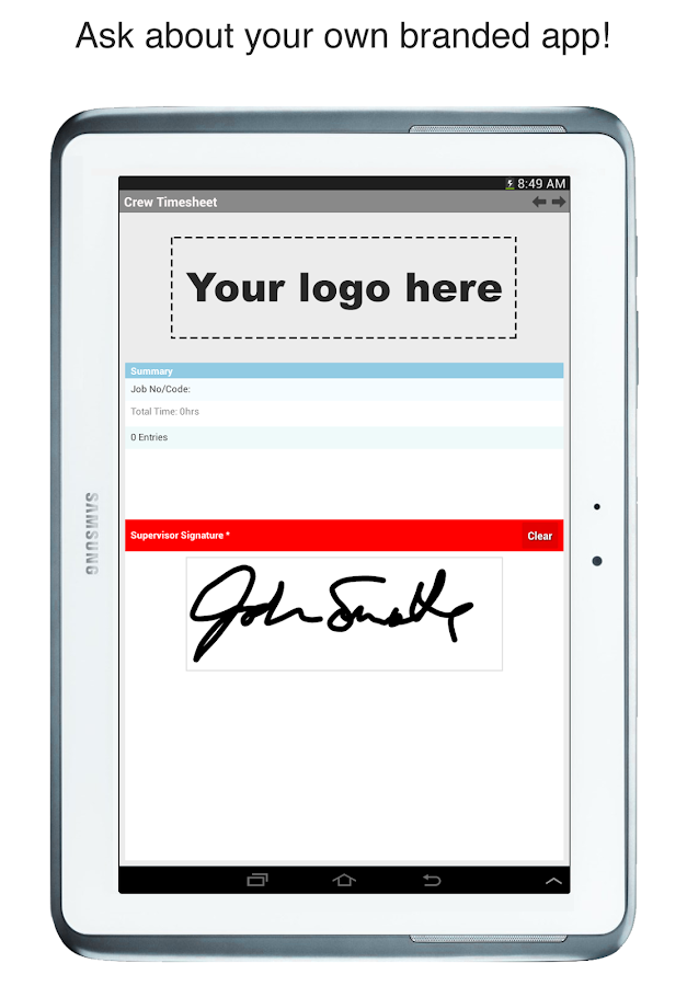 Forms On Fire - Mobile Forms- screenshot